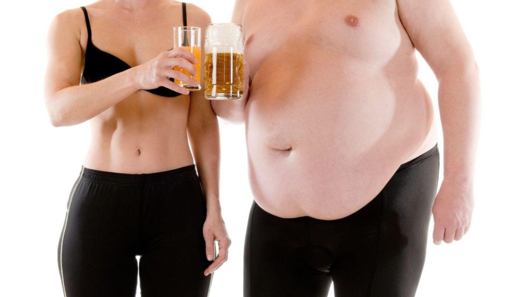Алкоголь превращает Ваши мышцы в жир